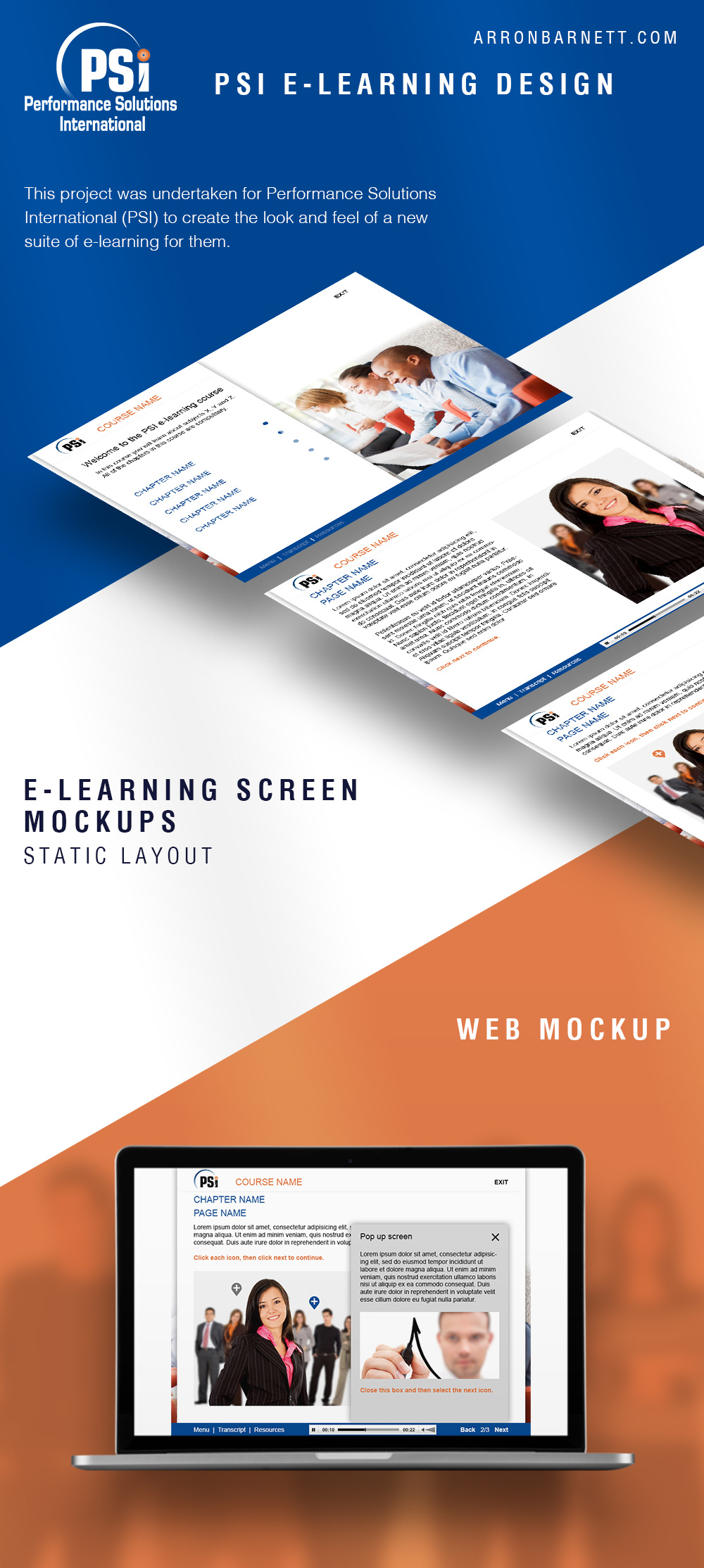 PSI E-Learning Design