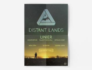 Orbital Distant Lands EventPoster