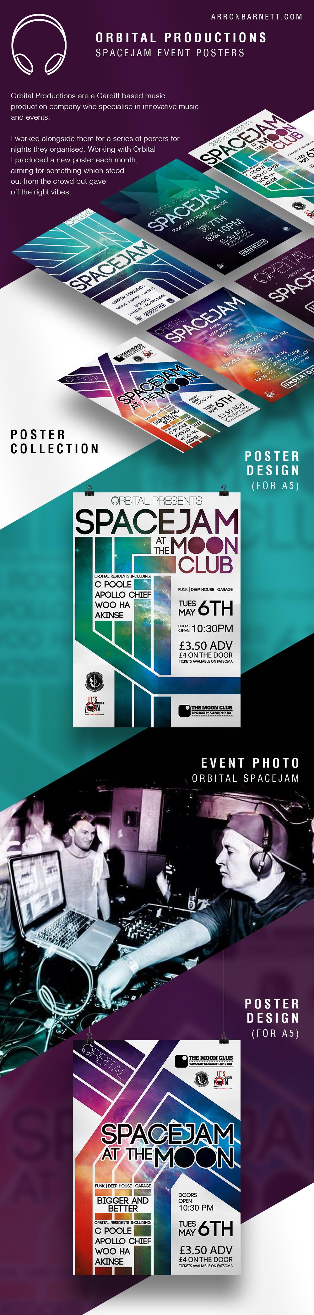 Orbital Spacejam Poster Collection