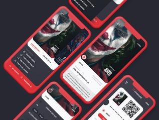 Cineworld App RedesignConcept