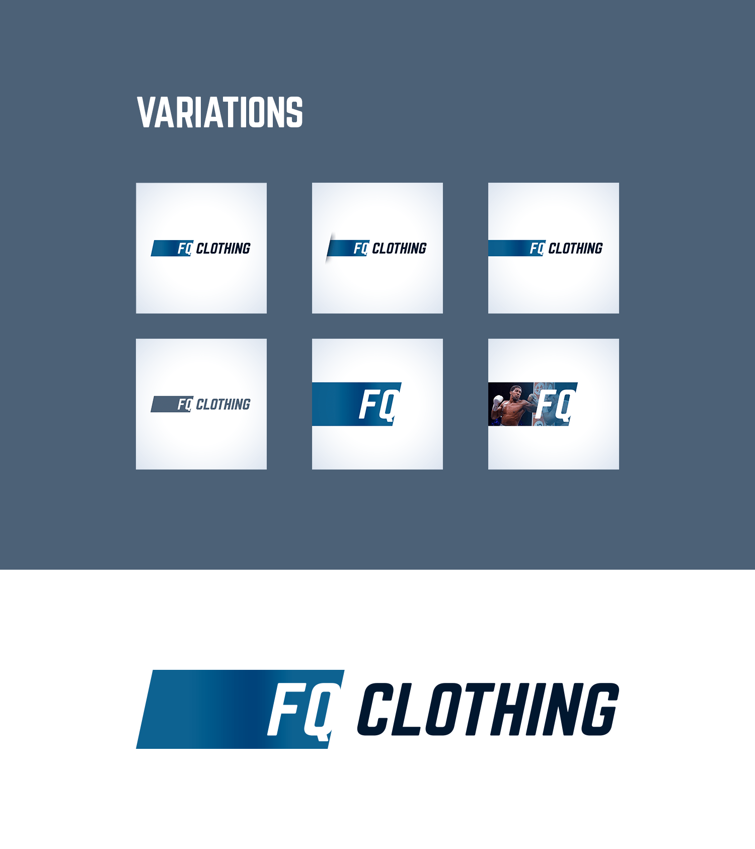 FQ Clothing Logo and Branding