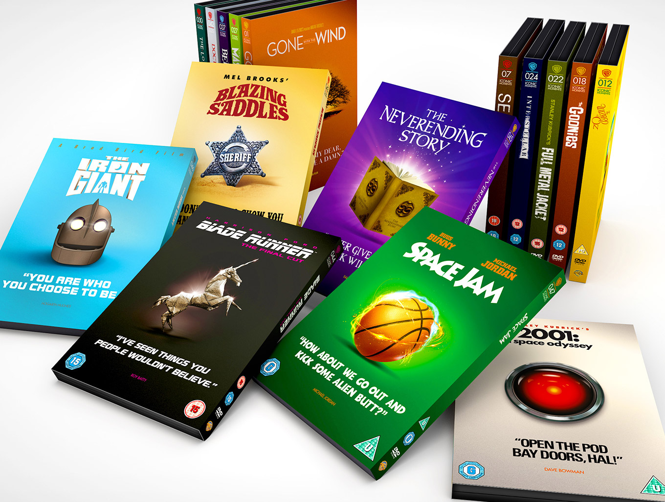 The Iconic Moments DVD Collection Full List
