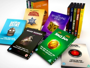 Collectible Sleeves – The 'Iconic Moments' DVD Collection FullList